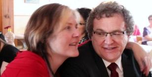 Lise Lotte og Jonny i Per-Magnars bryllup