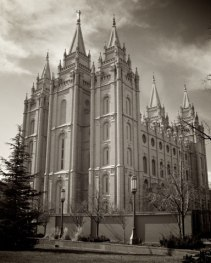 Salt Lake Temple, LDS archives