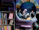Tre jenter på Tøyen barne og ungdomsbibliotek: Fra Dagsavisen.no